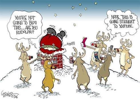 Christmas Comic - Social Media Marketing