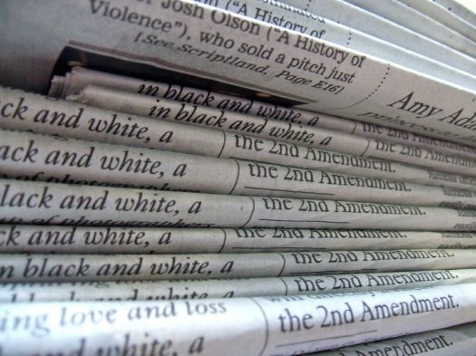 newspapers & press releases