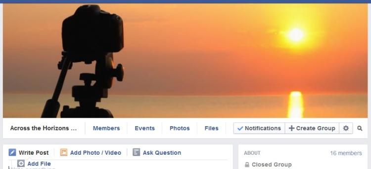 Facebook Group Header