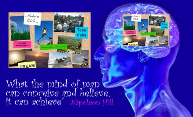 vision board quote